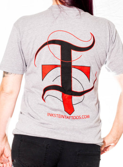 Grey InkStein Tattoos T-Shirt